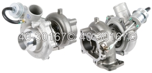 Chevrolet W-Series Truck Turbocharger