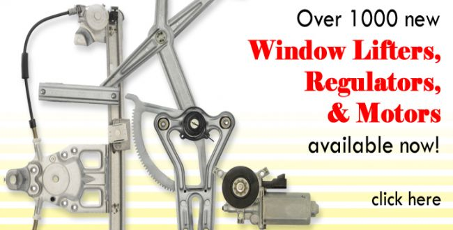 Window Lifters, Regulators, Motors